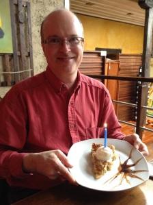 Free American Apple Pie ala mode for Glenn's birthday!